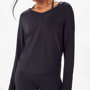 Fabletics Maria powertouch long sleeve top black